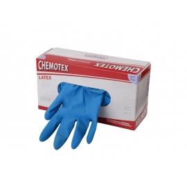 50 Latex-Einmalhandschuhe Chemotex extra stark  ~14mil Größe S - XL