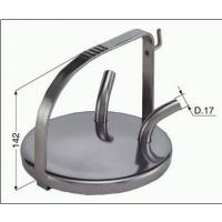 Niro-Melkeimerdeckel 16mm Anschluss mit Bügel