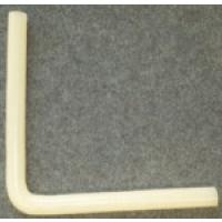 Silikon-Winkelschlauch-Kniestück passend für Fullwood