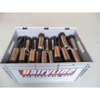 Zitzengummis mit montierten und gereinigten Hülsen im Komplett-Tausch