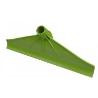 Kunststoff Kot-Schaber, 40cm grün